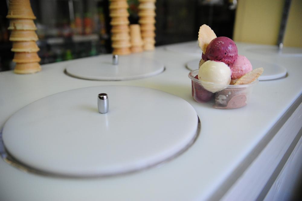 Zdjęcie lodów domowych